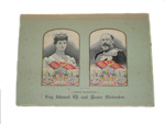 Silk Pictures of King Edward and Queen Alexandra; 250