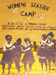 Women's Seaside Camp Poster, Adelaide Poster Collective, Adelaide Australia, 1979, 2001