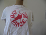 Gay Pride Tee Shirt, unknown, New Zealand, 1980, 165