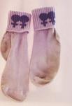 Lesbian socks, Dr Marno, Fran, Auckland New Zealand, mid 80's, 160