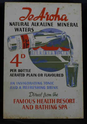 Advertisement for Te Aroha Natural Alkaline Minera...