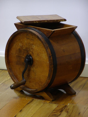No2 Improved Wooden Butter Churn