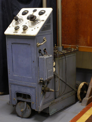 X Ray machine used in the Cadman Sanatorium