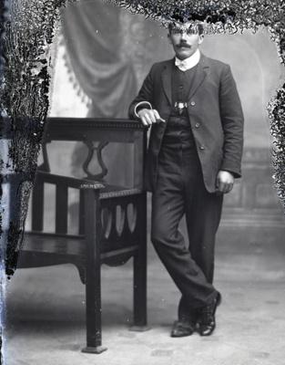 Male portrait; 20