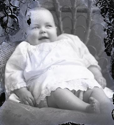 Baby portrait; 206