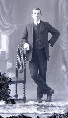Male portrait; 235