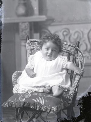 Baby portrait; 43