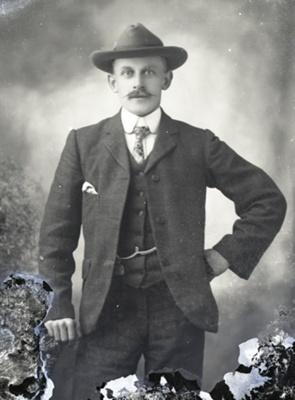 Male portrait; 743