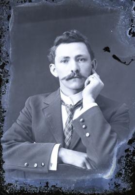 Male portrait; 79