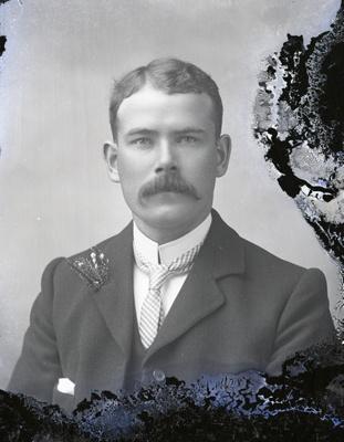 Male portrait; 780
