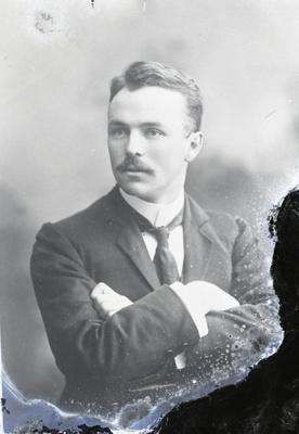 Male portrait; 71