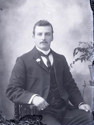 Male portrait; 293