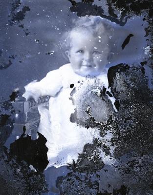Baby portrait; 713