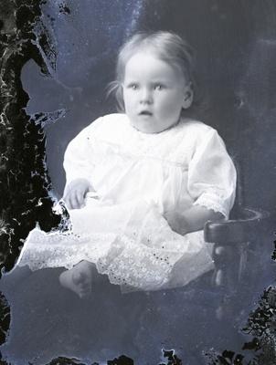 Baby portrait; 706