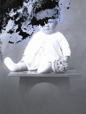 Baby portrait; 555