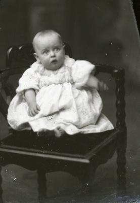 Baby portrait; 18