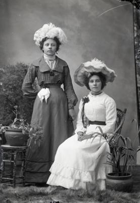 Two women; 111
