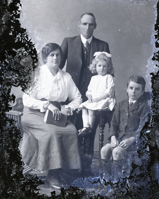 Family group photograph; 282