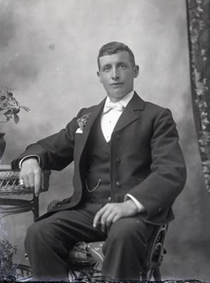 Male portrait; 36