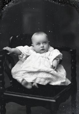 Baby portrait; 17