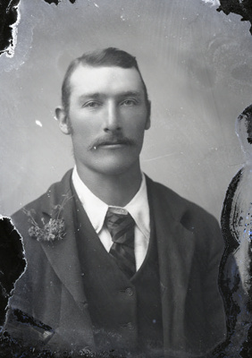 Male portrait; 776