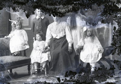 Family group photograph; 243