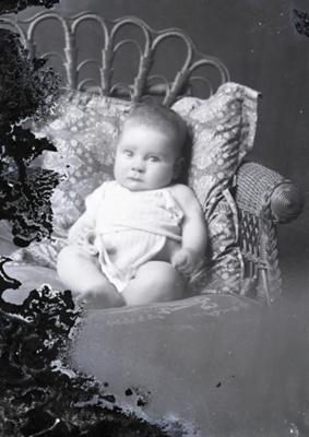 Baby portrait; 739