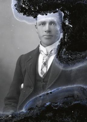 Male portrait; 76
