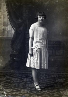Female portrait, P. Wilson; 119