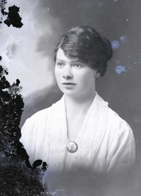 Female portrait; 738