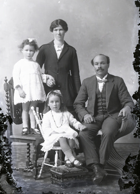 Family group photograph; 396