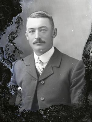 Male portrait; 779