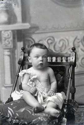 Baby portrait; 42