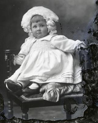 Baby portrait; 580