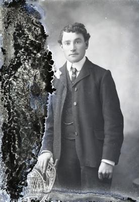 Male portrait; 68
