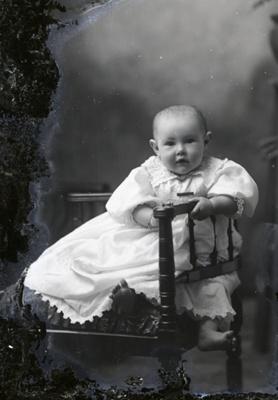 Baby portrait; 574