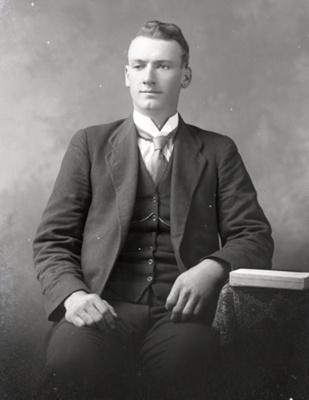 Male portrait; 756