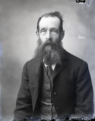 Male portrait; 78