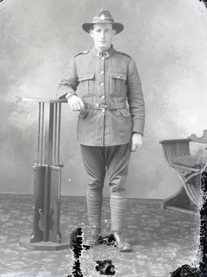Soldier portrait; 254