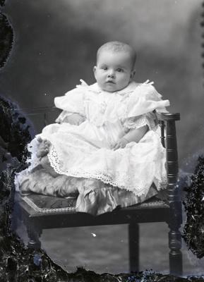 Baby portrait; 572