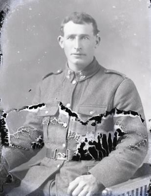 Soldier portrait; 265