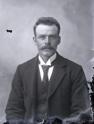 Male portrait; 70
