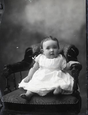 Baby portrait; 44