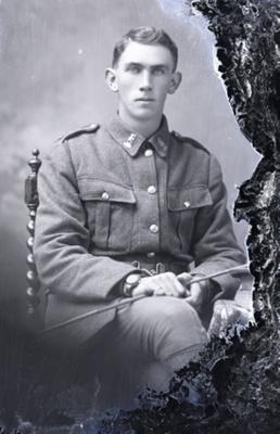 World War One soldier; 483