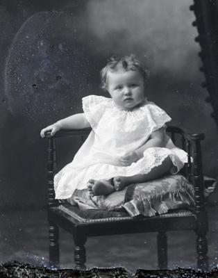 Baby portrait; 582