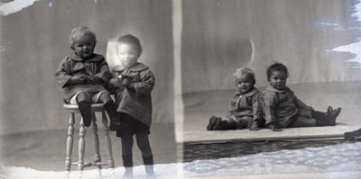 Two children; 124