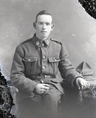 World War One soldier; 363