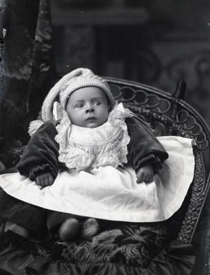 Baby portrait; 309