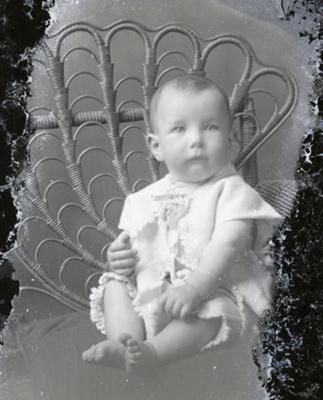Baby portrait; 765