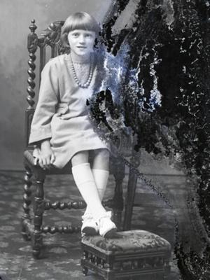 Girl portrait; 627